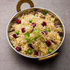 Beetroot Rice or pulao or pulav served in a bowl or karahi, selective focus. Indian food - PhotoDune Item for Sale