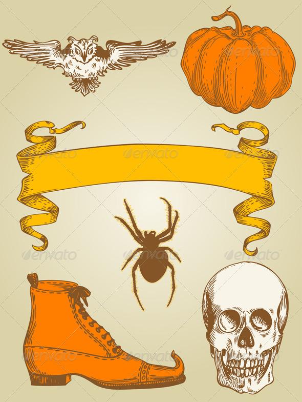 Halloween Set - Halloween Seasons/Holidays