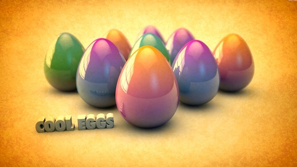 Eastern Egg Model with Texture and HDR Sky Texture - 3DOcean Item for Sale