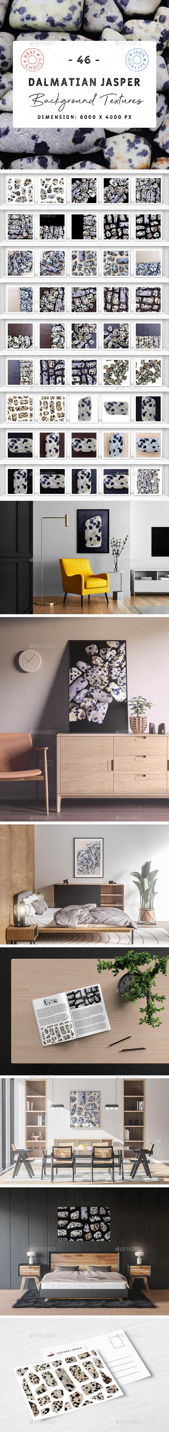 46 Dalmatian Jasper Background Textures