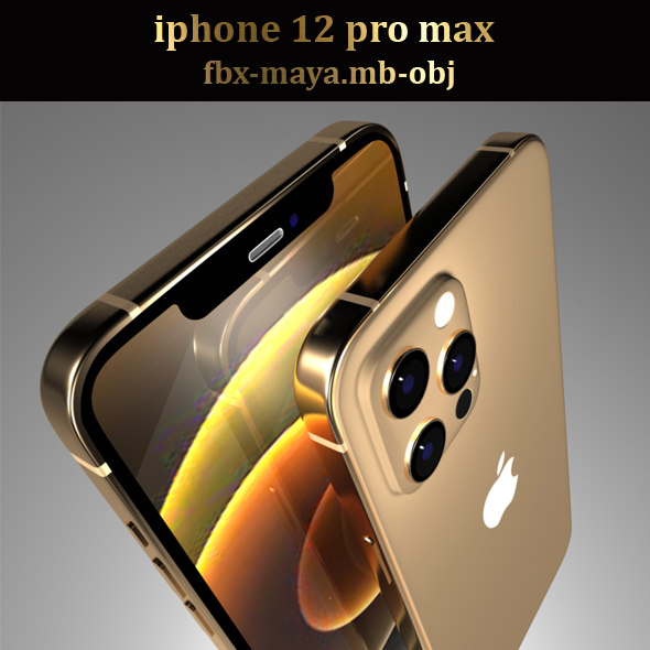 iPhone 12 pro max gold 1