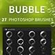 27 Bubble Photoshop Brushes