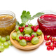 Jam with gooseberries and red currants - PhotoDune Item for Sale
