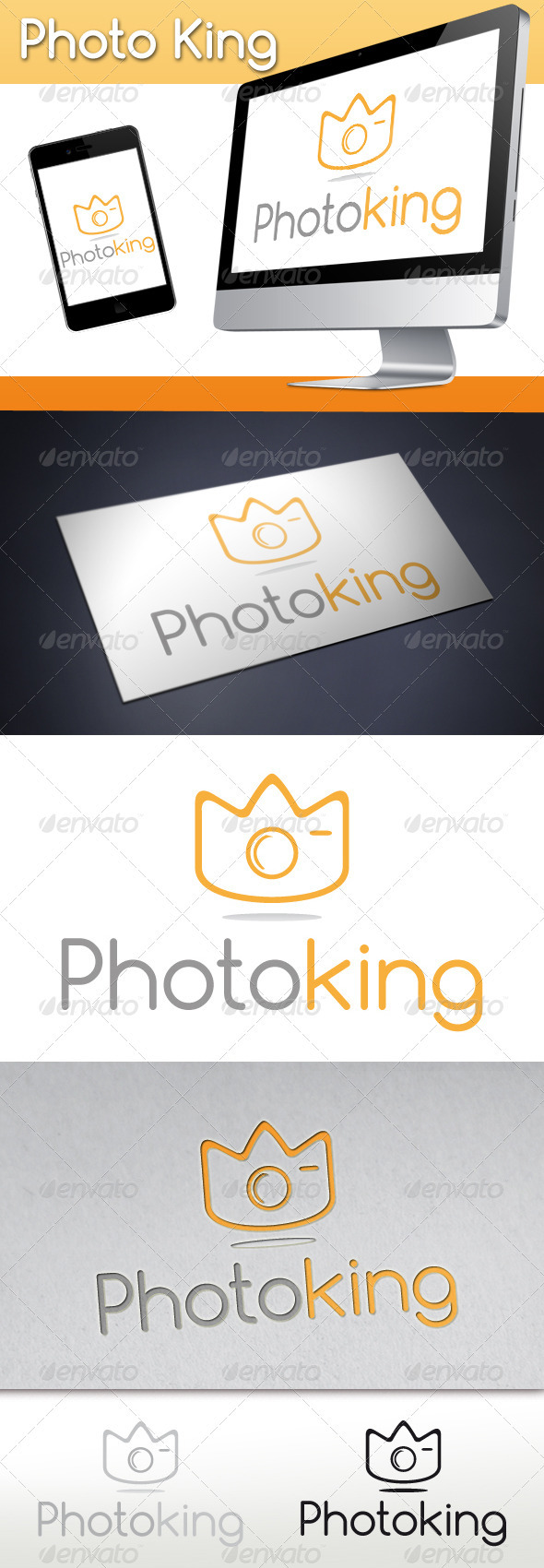 Photo King Logo - Objects Logo Templates