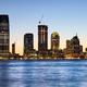 New Jersey skyline at dusk, USA. - PhotoDune Item for Sale