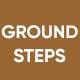 Steps On Ground Soil