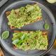 Tasty fresh toast with mashed avocado - PhotoDune Item for Sale