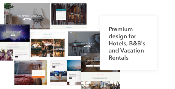 Hotel + Bed and Breakfast Booking Calendar Theme   Bellevue by Themovation