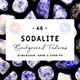 48 Sodalite Background Textures