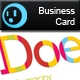 Coloring Business Card - GraphicRiver Item for Sale