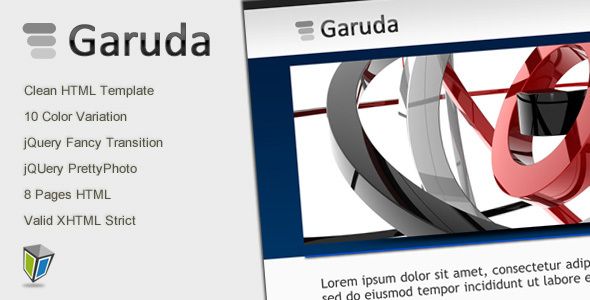 Garuda – Portfolio and Business HTML Template