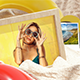 Photo Gallery on Summer Beach - VideoHive Item for Sale