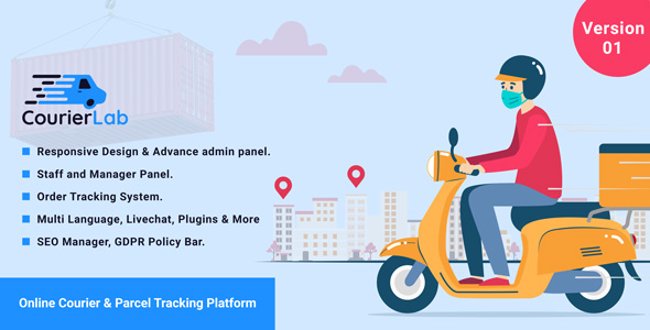 Download CourierLab – Online Courier And Parcel Tracking Platform Free Nulled