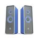 Blue stereo speakers - PhotoDune Item for Sale