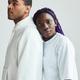 Portrait of Mixed Race Couple Minimal - PhotoDune Item for Sale