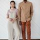 Minimal Portrait of Mixed Race Couple - PhotoDune Item for Sale