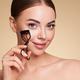 Beautiful woman using eyelash curler - PhotoDune Item for Sale