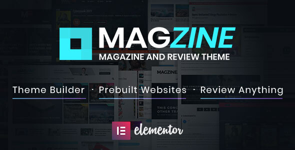 Magzine - Elementor Review and Magazine Theme