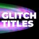 Glitch Titles 2 - VideoHive Item for Sale
