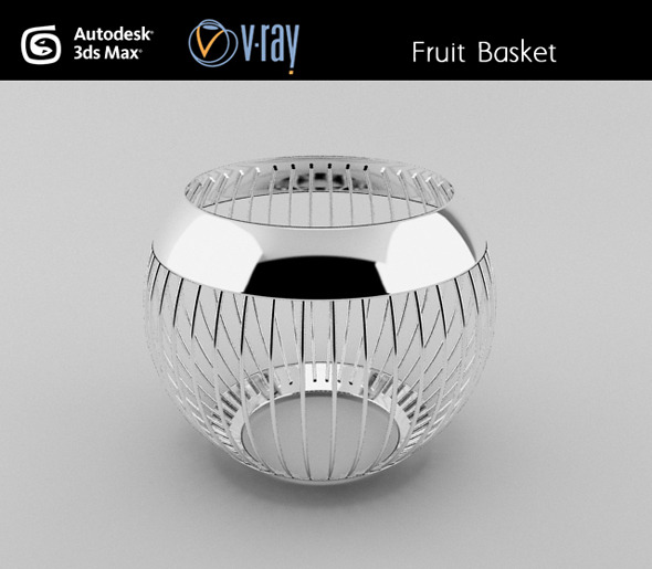 Fruit basket - 3DOcean Item for Sale