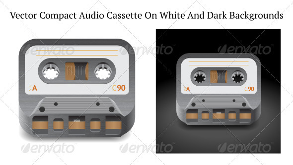 Icon for Audio Cassette - Retro Technology