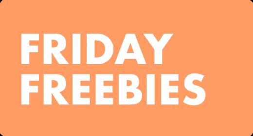 Friday Freebies — April 2021