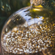 Christmas ball closeup with bright sparkles inside - PhotoDune Item for Sale