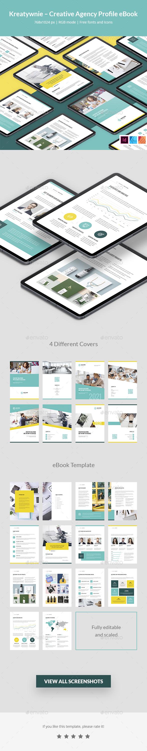 Kreatywnie – Creative Agency Profile eBook