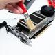 Graphics card repair. Computer components mentenance. - PhotoDune Item for Sale