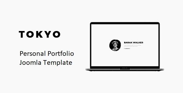 Tokyo – Personal Portfolio Joomla 4 Template With Page Builder