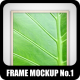 Frame Mock-up No.1 - GraphicRiver Item for Sale