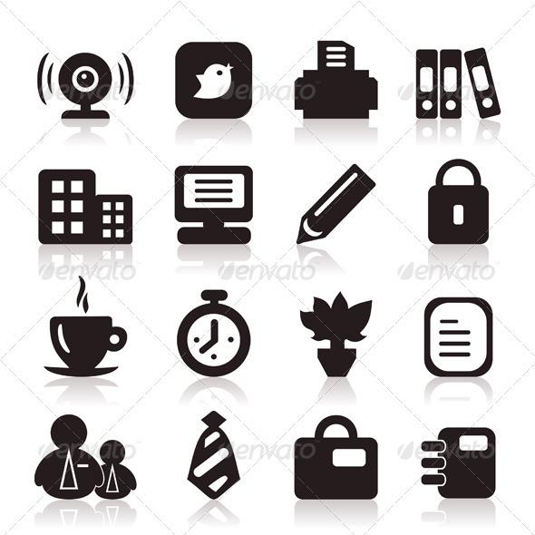 Office icons6 - Web Elements Vectors