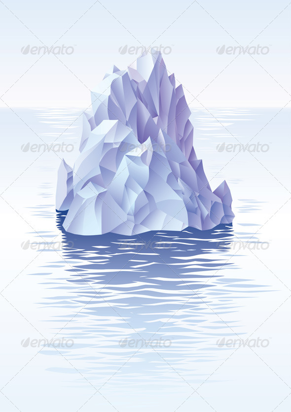 Iceberg - Objects Vectors