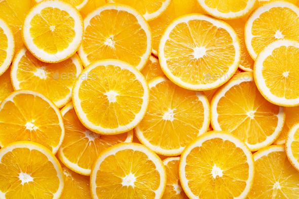 Orange background - Stock Photo - Images
