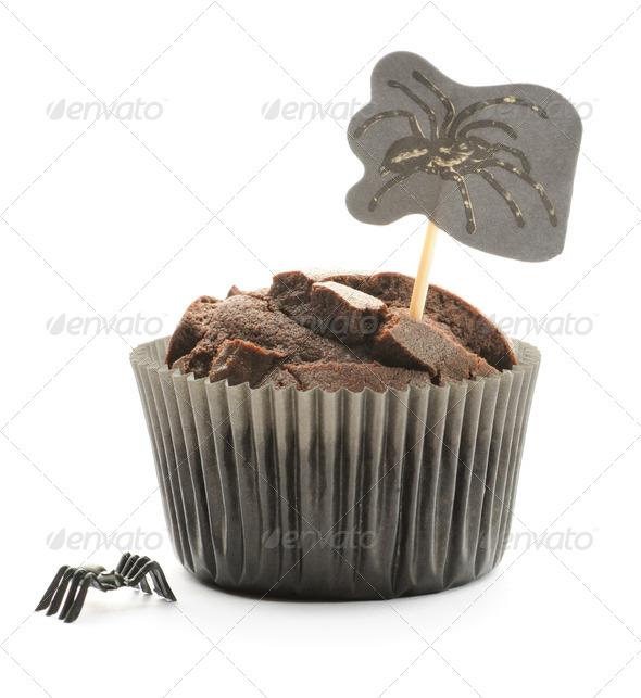 Halloween cake - Stock Photo - Images