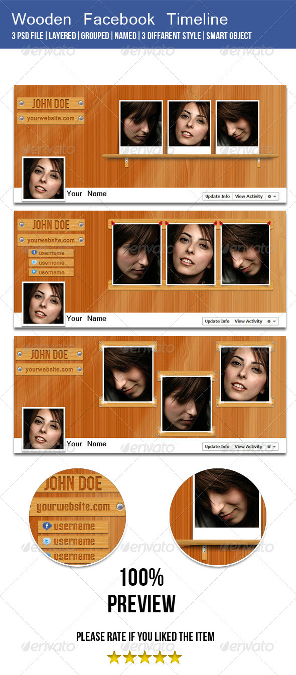 Wooden Facebook Timeline Cover Image - Facebook Timeline Covers Social Media