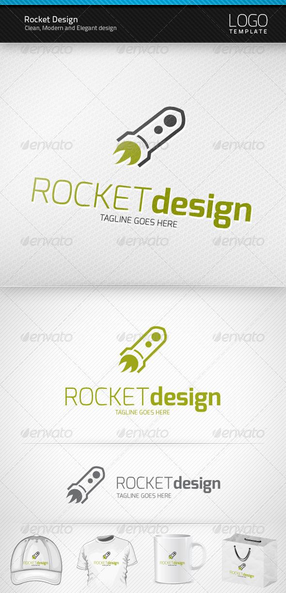 Rocket Design Logo - Symbols Logo Templates