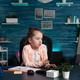 Smart pupil feeling sad and bored of online school - PhotoDune Item for Sale