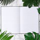 Notebook mockup with palm leaves - PhotoDune Item for Sale