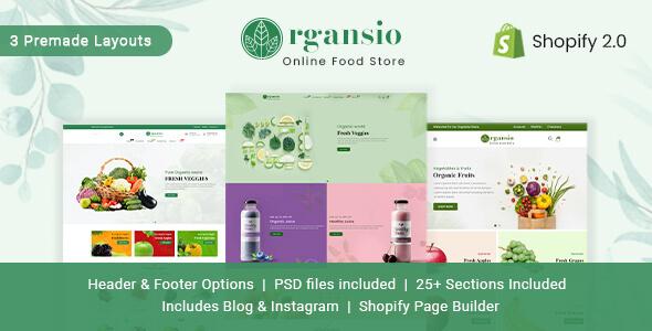 Organsio - Organic Responsive Shopify Theme