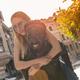 The couple walks around the city - PhotoDune Item for Sale