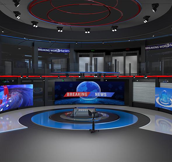 Virtual Studio Set 680