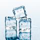 ice cubes on white background. creative photo - PhotoDune Item for Sale