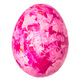Colorful Easter Egg isolated on white. Creative photo - PhotoDune Item for Sale