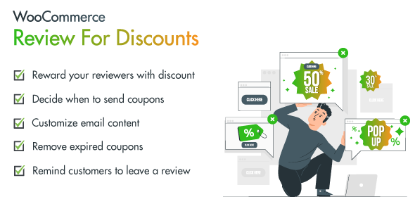 Download WooCommerce Reviews for Discount Free Nulled