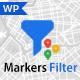 Progress Map, Markers Filter