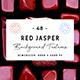 48 Red Jasper Background Textures