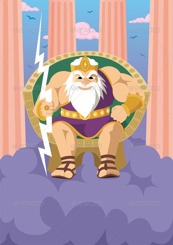 Zeus - Characters Vectors