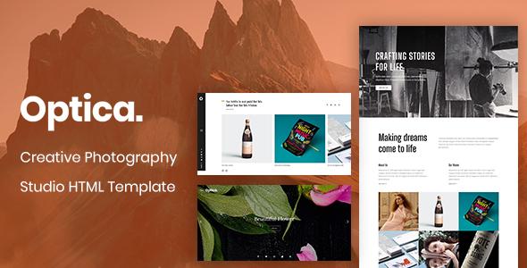Optica - Creative Photography Studio HTML Template