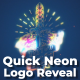 Quick Neon Logo Reveal - VideoHive Item for Sale